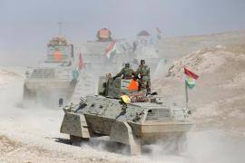 Estado Islámico pierde terreno ante el avance de la coalición hacia Mosul