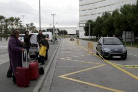 AENA habilitará un párking gratuito en la terminal de Llegadas de Son Sant Joan
