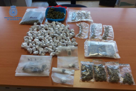 Detienen a 9 personas en una operación contra la droga en Palma y Marratxí