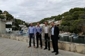 PortsIB y el Ajuntament de Santanyí colaboran para mejorar el entorno portuario de Cala Figuera
