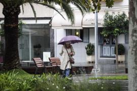 Las precipitaciones dejan 20 litros en Ibiza