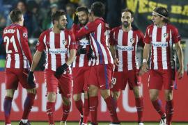 Carrasco mantiene el pleno del Atlético