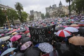 Argentina y Chile claman en las calles contra la violencia machista