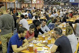 La inauguración de la Oktoberfest Palma se aplaza por las condiciones meteorológicas