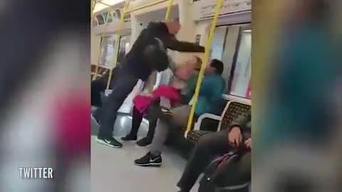 Una española repele en el metro de Londres una agresión racista a su marido