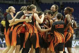 El UMMC Ekaterinburg, con 17 puntos de Alba Torrens, logra su segundo título europeo