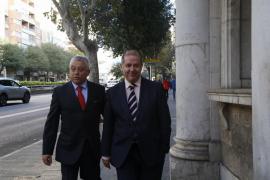 Vallejo declara ante el juez por la concesión de ORA