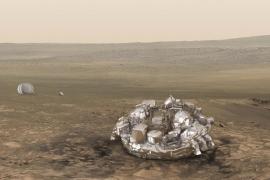Confirman que el módulo Schiaparelli se estrelló contra Marte