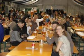Cort precinta la Oktoberfest de Palma por deficiencias técnicas