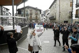 Máxima tensión en Alsasua por una manifestación contra la Guardia Civil
