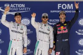 Hamilton saldrá por delante de Rosberg en Austin