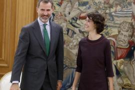 Felipe VI y Rosa Martínez
