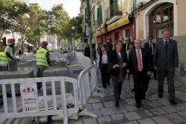 Las obras del plan E han creado 2.000 empleos en Palma