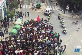 Manifestación en Palma contra la LOMCE y las reválidas