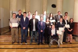 El Consell de Mallorca entrega la Gota d'Oli más olímpica