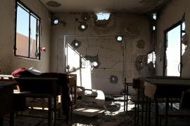 Mueren 22 niños y 6 maestros en un ataque en Siria