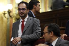 Antonio Hernando a Rajoy: «No nos gusta como presidente pero sí nos gusta este país»