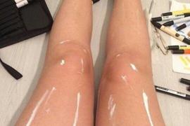 La ilusión óptica de estas piernas