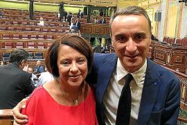 Pere Joan Pons y Sofía Hernanz son punta de lanza, no actuarán por su cuenta en la negativa a Rajoy