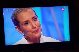 Aina Calvo: «La palabra cáncer impresiona y es lógico»
