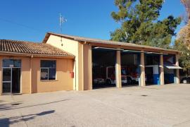 Luz verde a la reforma del parque de bomberos de Santa Ponça