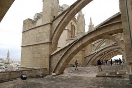 Doble jornada de puertas abiertas en las terrazas de la Catedral de Mallorca