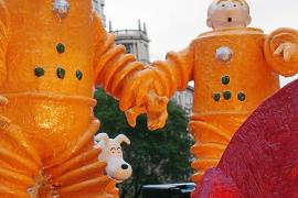 Tintín viaja a Mallorca para asistir el domingo a la Fireta de Llibres i Tebeos Vells