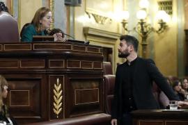 Polémica por la intervención de Rufián (ERC) por llamar «traidores» a los socialistas