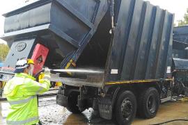 Emaya dejará de usar agua potable para limpiar sus vehículos por la sequía
