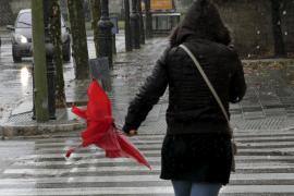Las lluvias llegarán el domingo a Balears