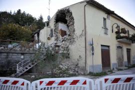 La tierra todavía tiembla en el centro de Italia