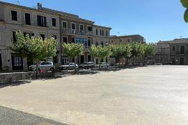 La Plaça Major de ses Salines mejorará su imagen con una inversión de unos 243.000 euros