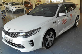 El Kia Optima Sportswagon, disponible en Frau Automóviles