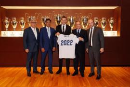 Bale extiende su contrato con el Real Madrid hasta 2022