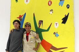 Manu Chao expone en Inca la versión plástica de sus composiciones musicales