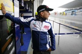 Lorenzo: «Era muy peligroso rodar en estas condiciones»
