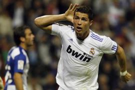 El Madrid remonta con goles de Cristiano Ronaldo