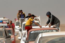 Las fuerzas especiales iraquíes rompen la línea de frente en los combates en Mosul