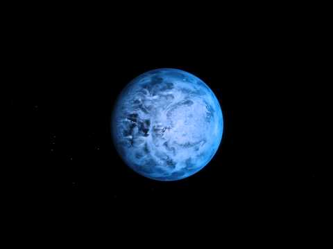 HD 189733 b, un mundo azul muy diferente a la Tierra