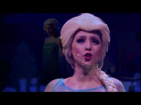 'La reina del hielo', un mágico musical infantil con los personajes de 'Frozen', en el Auditòrium