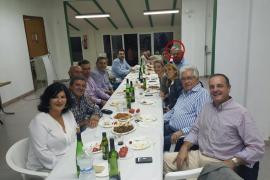 José María Rodríguez reaparece en la cena anual del PP de Ses Salines en la misma mesa de Miquel Vidal y Jeroni Salom