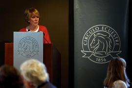Esperanza Aguirre apuesta por unir a PP y C's en un solo partido de centroderecha