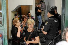 Vecinos impiden la ocupación de una vivienda en Pere Garau