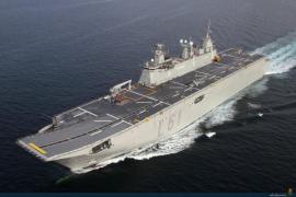 El buque insignia de la Armada española llega a Palma el día 18
