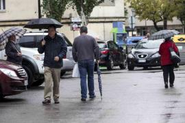 Los chubascos y el frío desembarcan este fin de semana en Balears