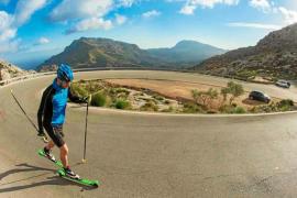'Rollerski', esquí sobre ruedas