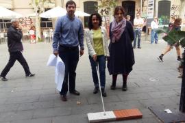 Unas bandas de encaminamiento facilitarán la movilidad de las personas ciegas