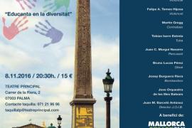 Gran concierto solidario 'París: la concorde' en el Teatre Principal