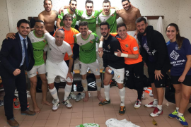 Sufrida victoria del Palma Futsal en Valencia