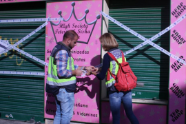 Detenidas dos personas por vender marihuana sintética a menores en una 'grow shop' de Palma